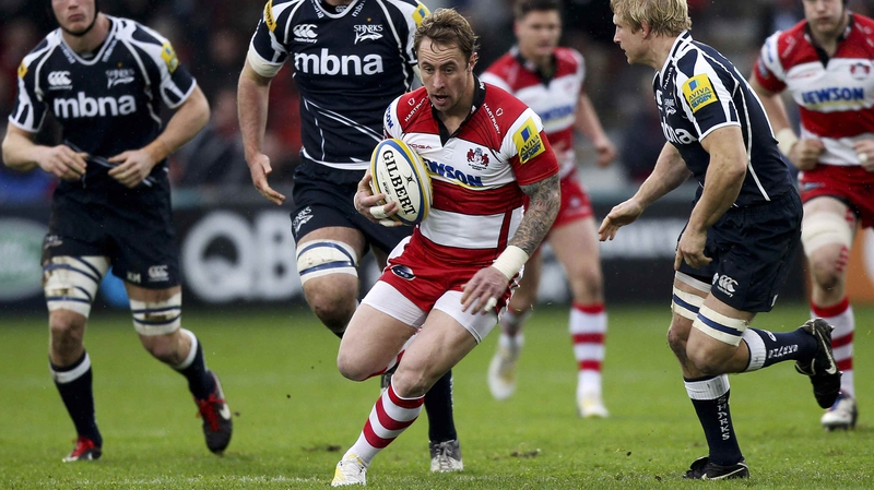 Jimmy Cowan in action for Gloucester