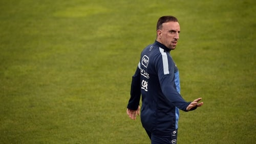 Franck Ribery has been struggling with a back problem