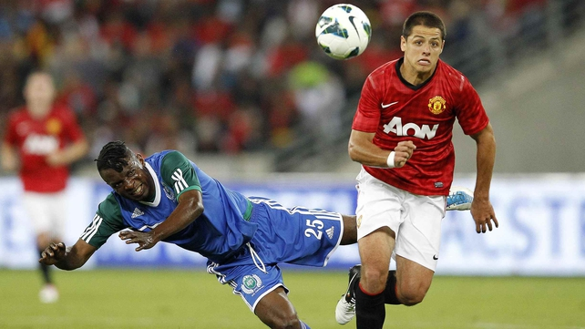 Javier Hernandez goes to Real Madrid on loan