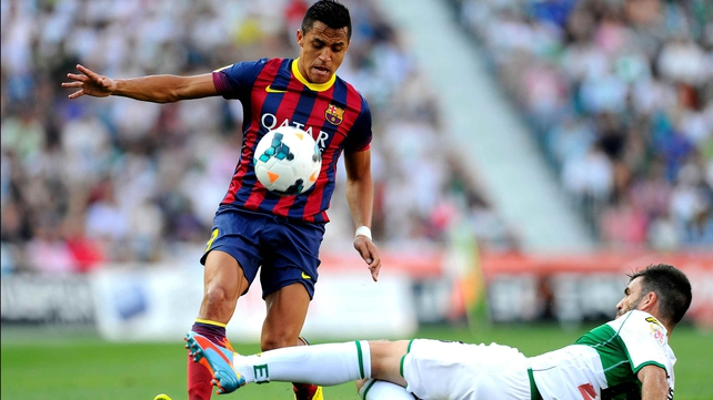 Alexis Sanchez could be offered as a makeweight by Barca in any deal for Suarez