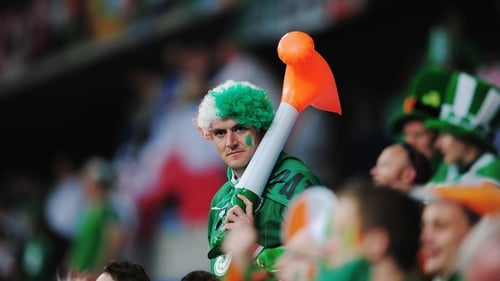 Irish fans must get creative for this World Cup