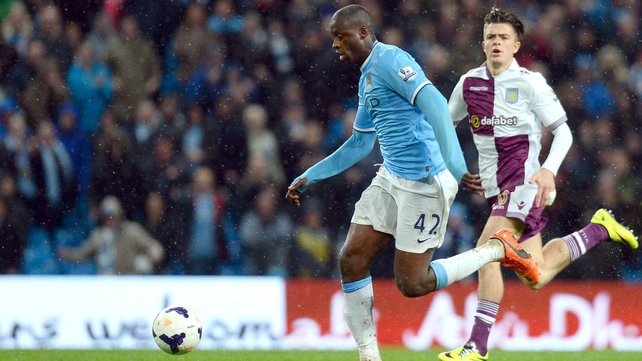 Yaya Toure finished in third place in the PFA and FWA Footballer of the Year awards