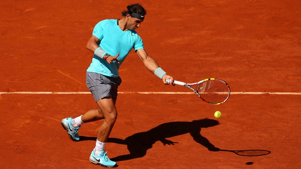Rafael Nadal  has dropped just one set en route to the French Open final