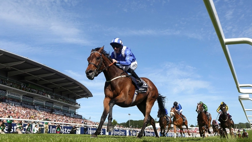 Taghrooda won the Investec Oaks at Epsom in early June