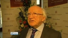 President Higgins 'appalled' by Tuam reports