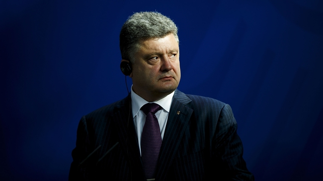 Petro Poroshenko has promised to bridge the east-west divide that has split the country