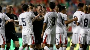 There was a melee with players fro both sides after the foul on Kevin Doyle by Giancarlo Gonzalez