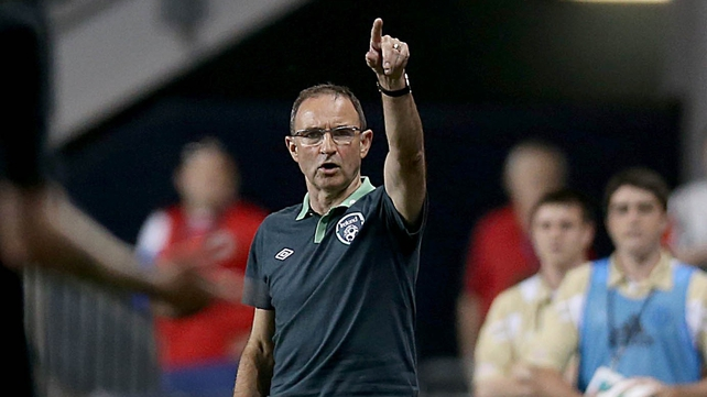 Martin O'Neill said Ireland had not dealt with problems as well as they had done against Italy