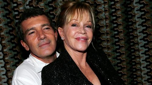 Melanie Griffith with Antonio Banderas