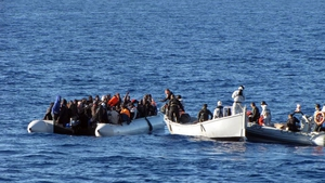Good weather conditions in the Mediterranean have further boosted the influx of migrants desperate to reach Europe