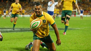 Kurtley Beale will be available for Australia's World Cup challenge