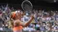 Sharapova wins gripping French final