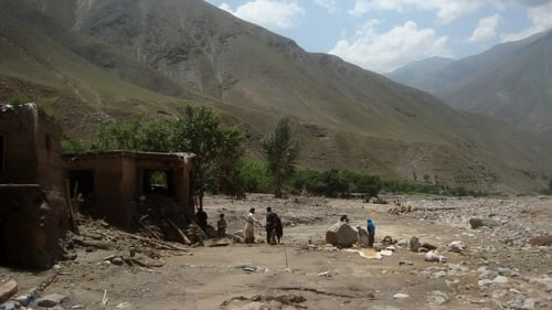 Houses have been washed away and thousands forced to flee the Guzargah-e-Nur district of Baghlan