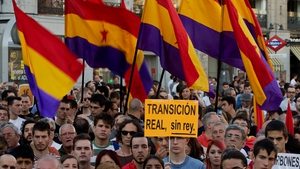 Anti-monarchy protests take place across Spain