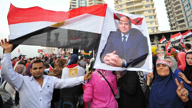 Abdel Fattah al-Sisi was declared the country's president last week