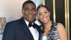 Tracy Morgan and Megan Wollover tie the knot
