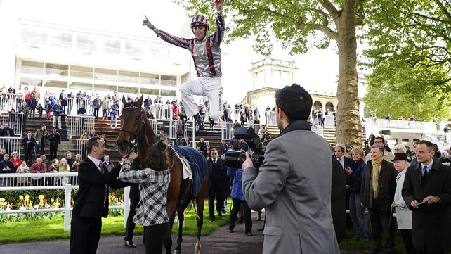 Christophe Soumillon will ride Prince Gilbralter in the Juddmonte Grand Prix de Paris on Sunday