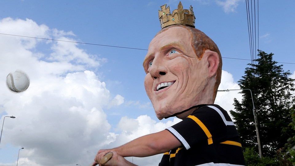 'King Henry' in action before Kilkenny vs Offaly