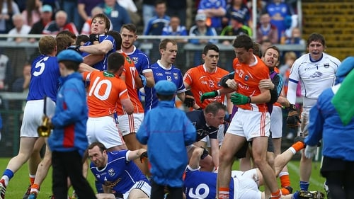 Ugly scenes marred the pre-match parade at Armagh vs Cavan