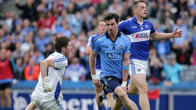 Michael Darragh Macauley was among the Dublin goalscorers in their win over Laois