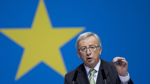 Jean-Claude Juncker said the army could defend European 'values'