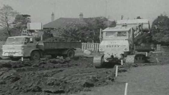 Radio Centre under construction (1969)