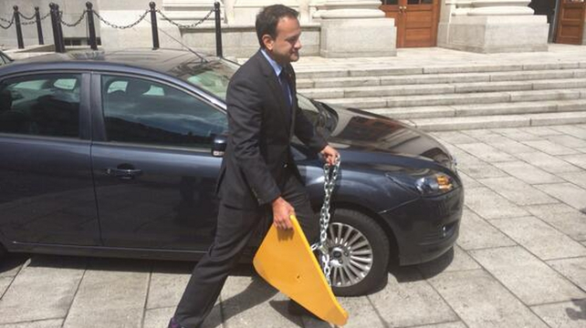 Leo Varadkar unveiled new regulations for clamping industry this morning