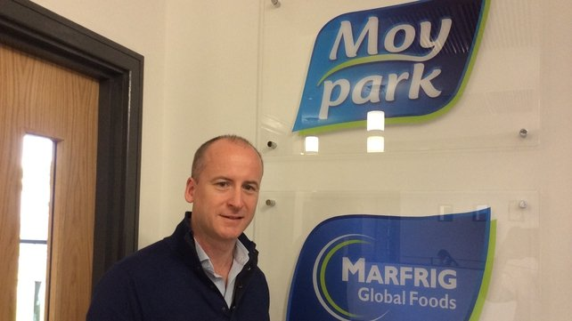 Moy Park's Director of Brand marketing, Andrew Nethercott, says company wants to grow globally