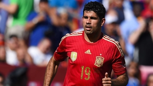 Naturalised Brazilian Diego Costa has won nine caps for Spain since making his debut in 2014