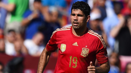 Diego Costa has to chosen to play for Spain ahead of his native country Brazil