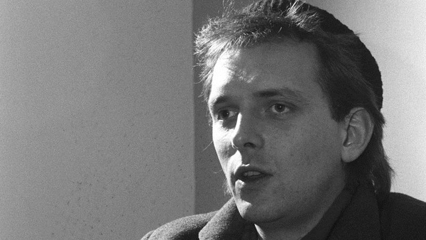 Rik Mayall who has passed away aged 56