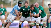 Ireland Manager Mick Kearney on the Irish squad's analysis of the first Test against Argentina