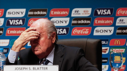 Sepp Blatter and his FIFA colleagues  face mounting pressure to strip Qatar of the 2022 World Cup