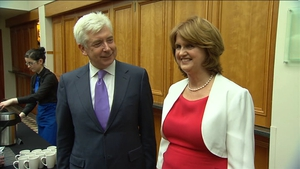 Labour's Alex White and Joan Burton are running for party leadership