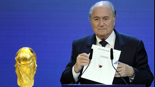 Sepp Blatter reveals Qatar will be the World Cup venue