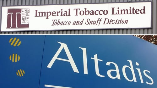 Imperial's subsidiary Altadis to sell a portion of shares in Logista to investors in IPO