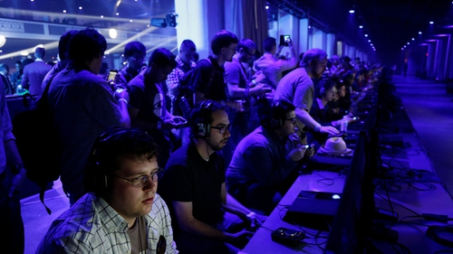 Electronic Entertainment Expo video games convention in Los Angeles started last night