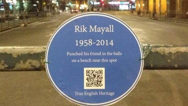 A fitting tribute to a very funny man