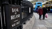 Bank of Ireland has restructured its pension scheme and reduced staff numbers since 2008, but the bank did not cut pay
