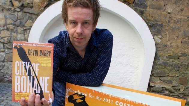 Kevin Barry, last year's winner for City of Bohane
