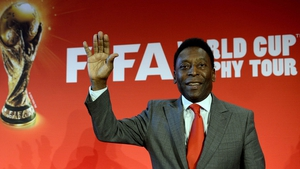 Pele has high hopes for the 'historic' squad as they host the World Cup