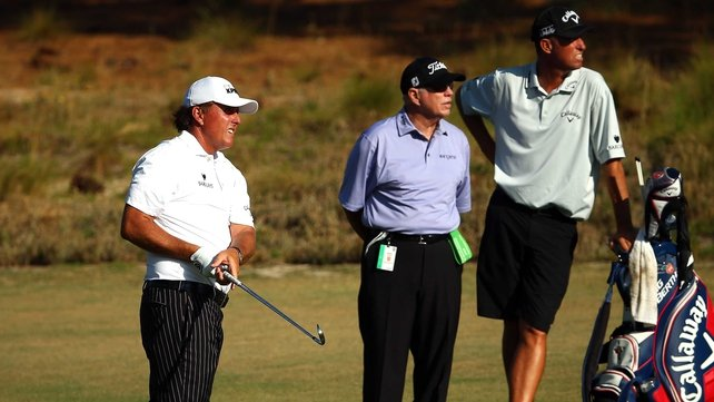 Phil Mickelson: 'The golf course here gives you a variety of options off the tee'
