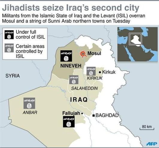 Iraq - the fall of Tikrit