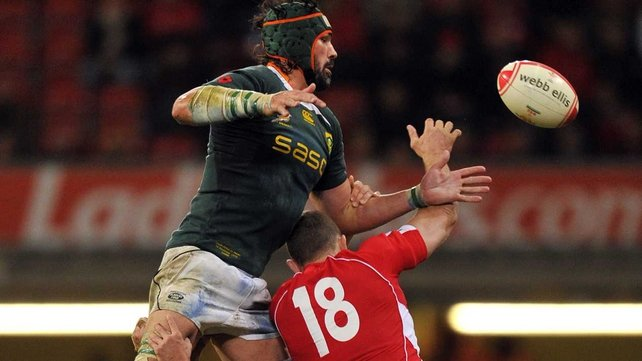 38-year-old Matfield, who has not played international rugby since the 2011 World Cup, will make his 111th appearance