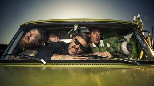 Mastodon release their new album Once More 'Round the Sun on Friday June 20