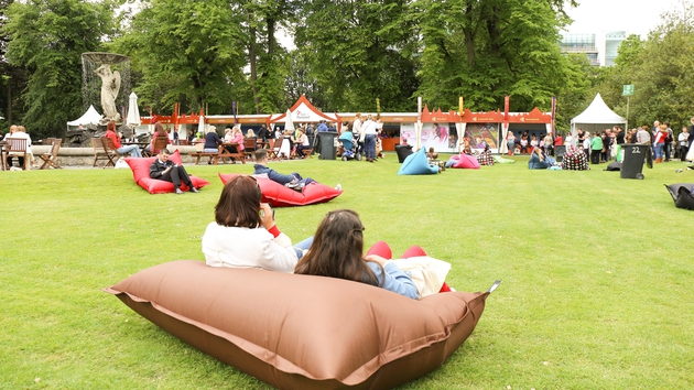 Taste of Dublin taking place in the Iveagh Gardens, June 12 - 15