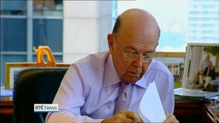 Wilbur Ross to set up joint venture to finance investing in Irish property