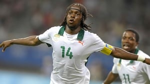 Gervinho (2010, 2014) of the Ivory Coast continues to dazzle audiences with his beautiful choice to don a horizontal headband that seemingly serves little purpose at all.