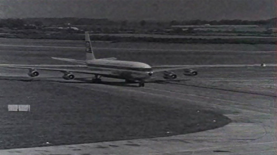 Aer Lingus Gets Its First Boeing 707