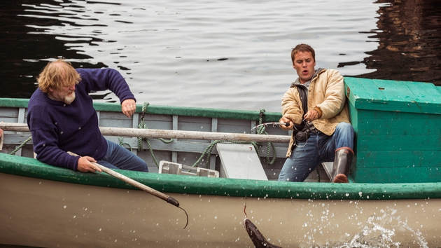 Brendan Gleeson and former Friday Night Lights star Taylor Kitsch take the main roles in The Grand Seduction